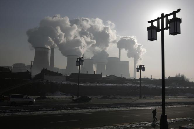Une centrale de charbon près de Datong, en Chine.