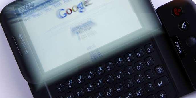 Un terminal mobile Android.