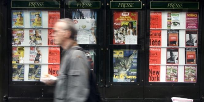 Les ventes des hebdomadaires chutent au premier trimestre.