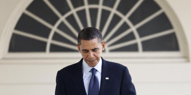 Barack Obama à la Maison Blanche, le 27 janvier 2010.