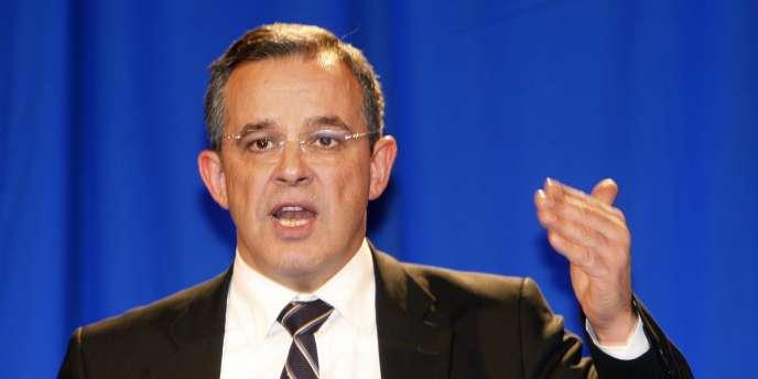 Thierry Mariani, ministre des transports et fondateur de la Droite populaire.