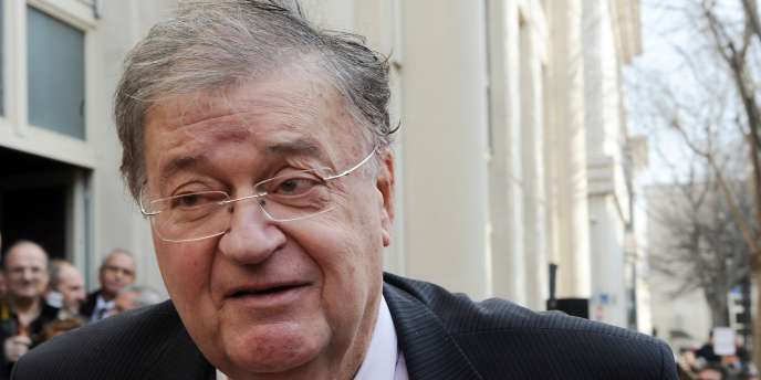 Georges Frêche, le 23 janvier 2010, à Montpellier.
