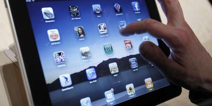En 2013, plus de 195 millions de tablettes ont été écoulées dans le monde, dont 36 % d'iPad, selon le cabinet Gartner.