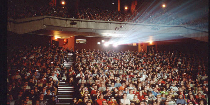 Projection lors du festival international du court-métrage de Clermont-Ferrand, dont la 33e édition se tient du 4 au 12 février.