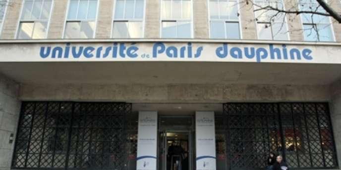 L'université Paris-Dauphine.