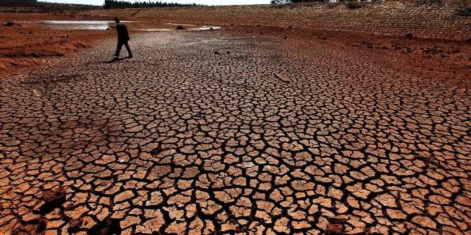 Le réchauffement climatique entraîne une aggravation des périodes de sécheresse, comme ici en Chine.