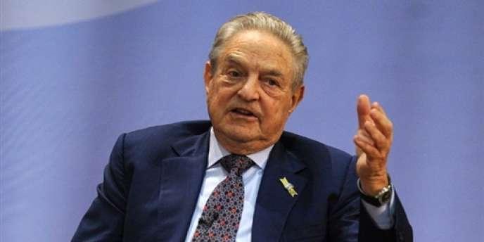 Le financier George Soros à Hongkong, en février 2010.