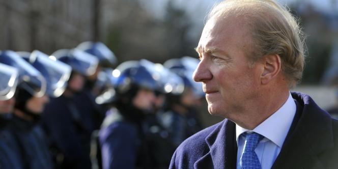 Brice Hortefeux, ministre de l'intérieur