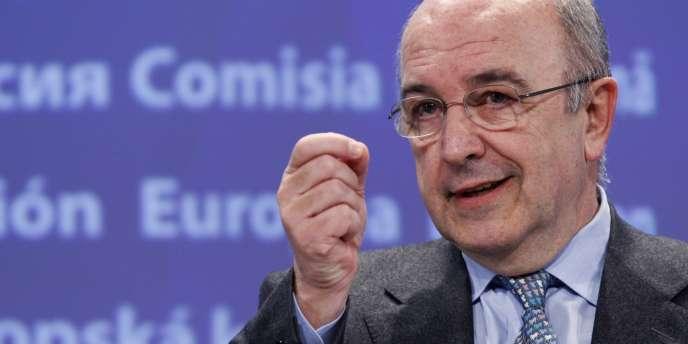 Le commissaire européen chargé de la concurrence, Joaquín Almunia, en février 2010.