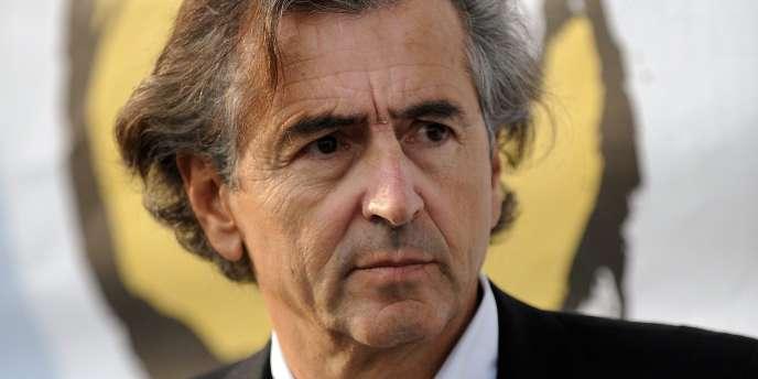 Bernard-Henri Lévy, 2009.