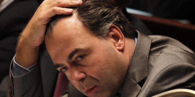 Le ministre de l'éducation nationale, de la jeunesse et de la vie associative, Luc Chatel.