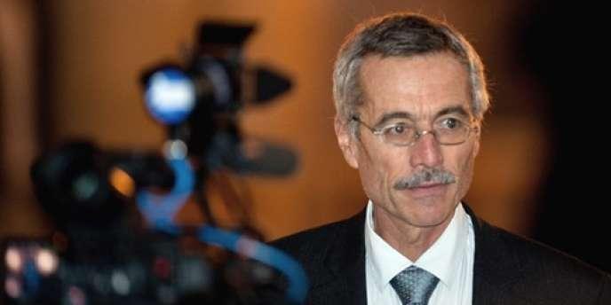 Le juge Renaud Van Ruymbeke à Paris en octobre 2009.