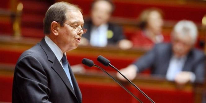 Patrick Ollier, le 1er avril 2008 à l'Assemblée nationale.