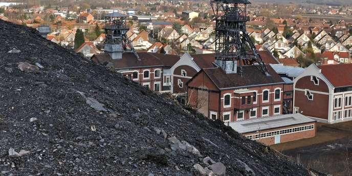 La cité des mineurs de Oignies (Nord/Pas-de-Calais) en janvier 2010