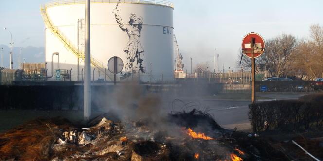 La raffinerie Total de Dunkerque.