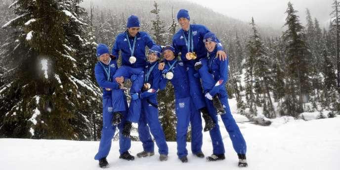 Les biathlètes bleus ont rapporté six médailles sur les onze de la délégation française aux JO de Vancouver.