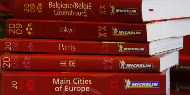 Le guide Michelin ne se vend plus guère en France : 107 000 exemplaires en 2010 selon