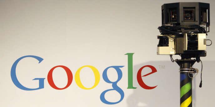 Une caméra utilisée pour le programme Street View de Google.