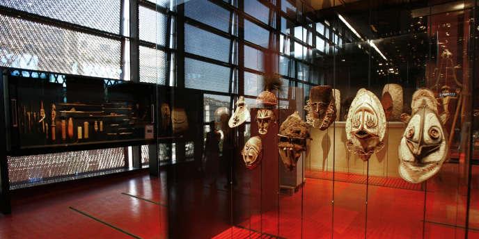 Les objets dérobés au Musée du Quai Branly avaient été mis en réserve après une exposition au mois de décembre 2009.