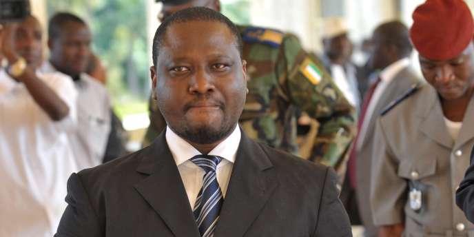 Guillaume Soro, ancien premier ministre d'Alassane Ouattara était le seul candidat en lice