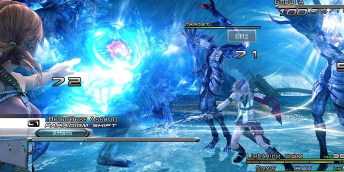 Final Fantasy XIII s'illustre par ses graphismes et son système de combat, mêlant tactique et réflexes. Le jeu est toutefois linéaire pendant une longue période, limitant les phases d'explorations et les quêtes annexes.