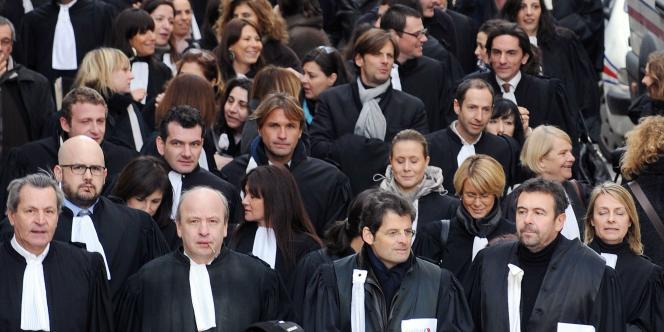 Les syndicats ont appelé à une grève du zèle dans les tribunaux pour demander davantage de moyens.