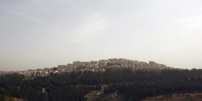 La colonie juive de Ramat Shlomo, le 10 mars 2010.