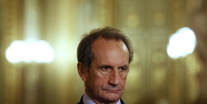 Le président du groupe UMP au Sénat, Gérard Longuet.