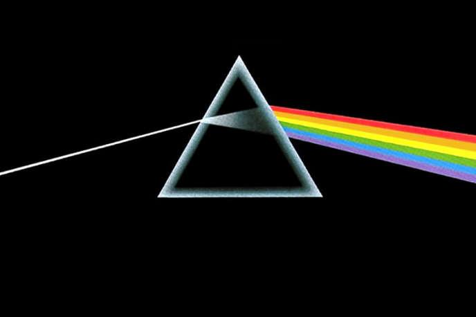 La pochette de l'album mythique des Pink Floyd, «Dark Side of the Moon».