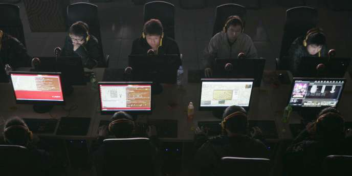 Des internautes en Chine.