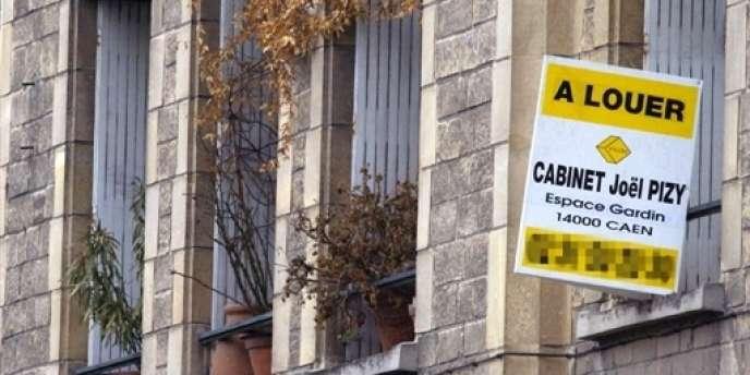 Appartement à louer à Caen.