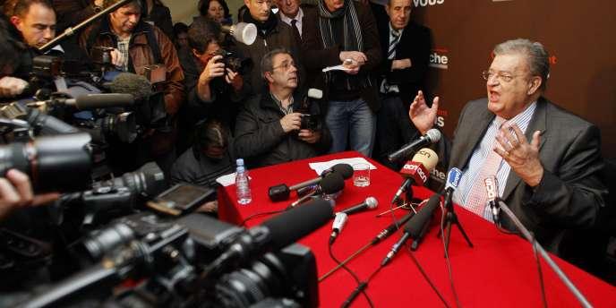 Georges Frêche, le 14 mars 2010.