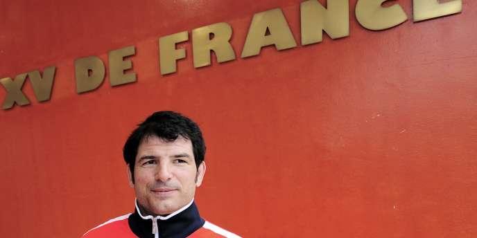 Marc Lièvremont, le 12 mars à Marcoussis.