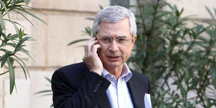 Claude Bartolone, président du conseil général de Seine-Saint-Denis.