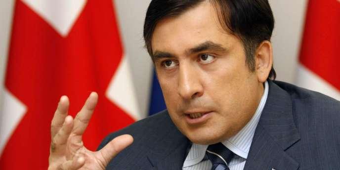 Mikheïl Saakachvili a vu sa réputation ternie ces dernières années par des accusations de dérive autoritaire.