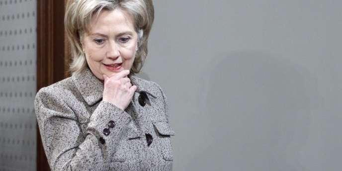 Hillary Clinton à Moscou.
