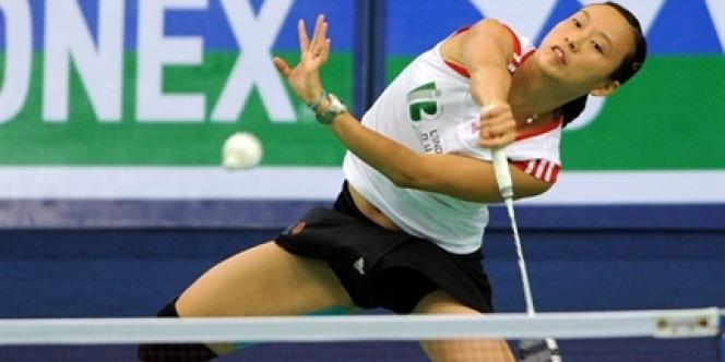 Hongyan Pi est la joueuse française de badminton la plus performante au niveau mondial.