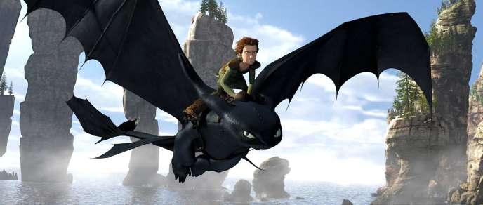 Une image du film d'animation américain de Chris Sanders et Dean DeBlois,