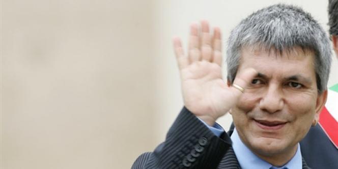Nichi Vendola, leader du parti Gauche écologie et liberté, le 24 mai 2006.