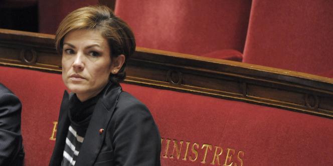 Chantal Jouanno, en mars 2010, à l'Assemblée nationale.