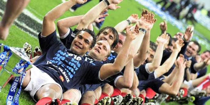 Le XV de France célèbre son Grand Chelem, le 20 mars, au Stade de France. La fin d'année sera plus compliquée...