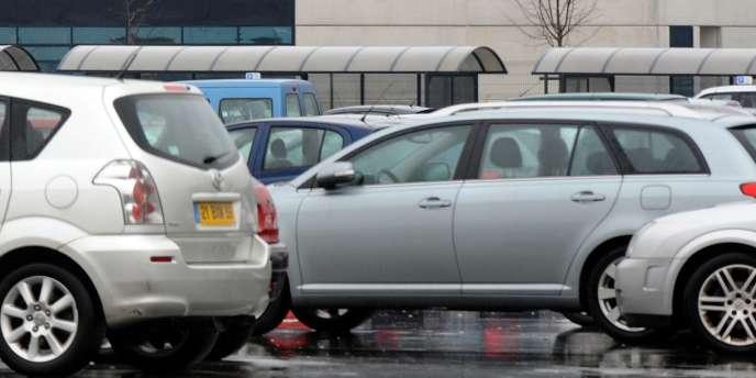 Usine Toyota d'Onnaing, près de Valenciennes.