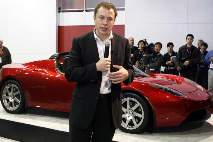 Elon Musk, patron de Tesla et de SpaceX.