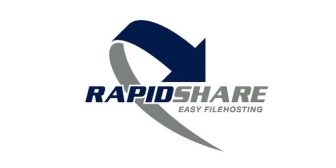 Le logo du site de téléchargement direct Rapidshare.