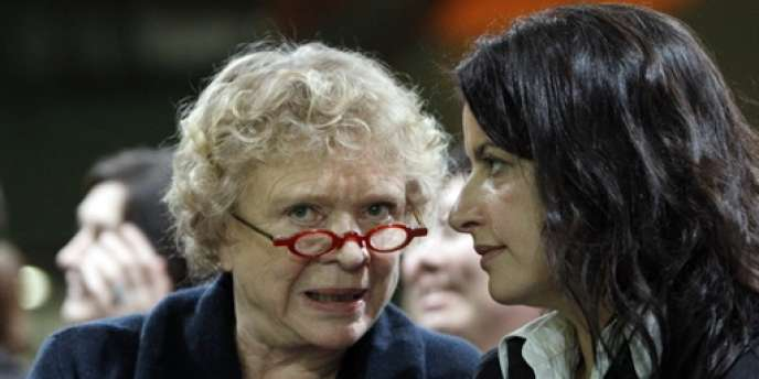 Eva Joly et Cécile Duflot en mars 2010
