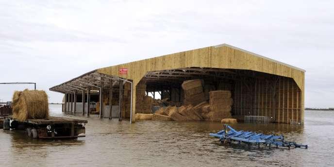 A L'Aiguillon-sur-Mer, le 3 mars, quatre jours après le passage de la tempête Xynthia.
