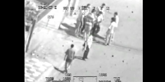 Image de la vidéo classifiée que s'est procurée Wikileaks.