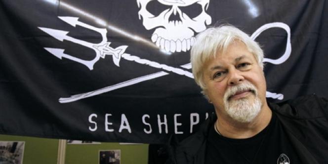 Paul Watson, écologiste aux méthodes radicales, s'est lancé à l'assaut de la pêche illégale.