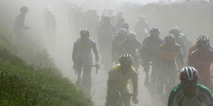 Sur le Paris-Roubaix en 2007