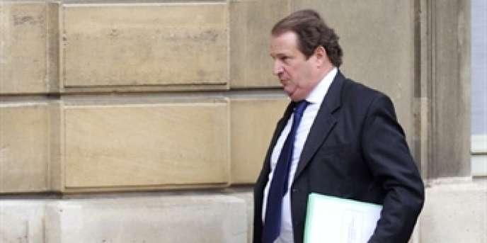 L'ancien conseiller à la présidence, Pierre Charon, à l'Elysée, le 7 avril 2010.
